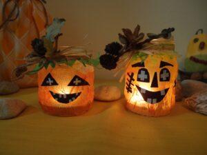 Halloweenské lucerničky
